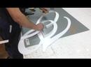 Процесс изготовление световых букв