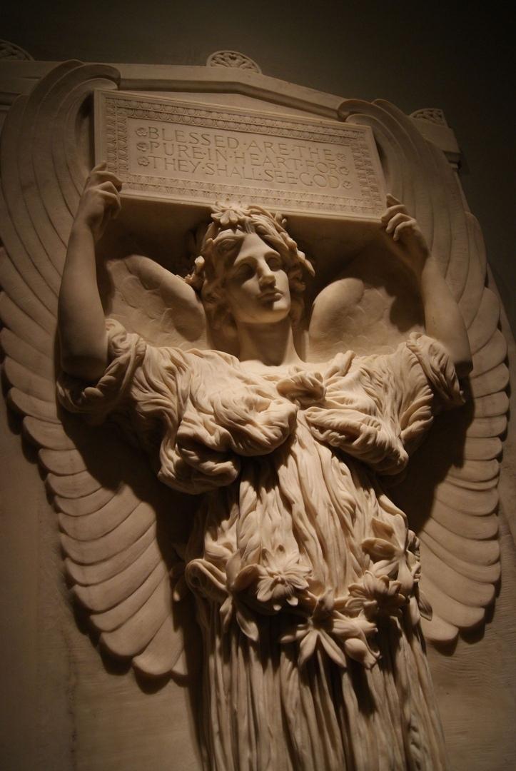 Ангел непорочности (Мемориал Марии Митчелл), 1902