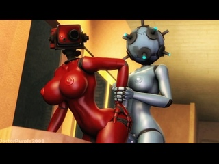 3d sfm by DoctorPurple2000 Robot android sex bot Team Fortress 2 Tf2 r34 rule34 femdom futa futanari