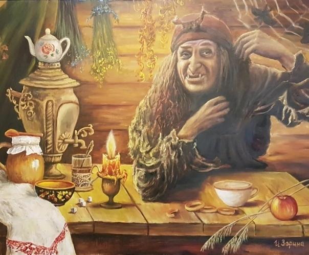 Выйти замуж за Кощея Леший с большим аппетитом съел любовно приготовленный Бабой Ягой пирог. Он сыто прищурился и медленно откинулся на спинку стула. Комната неожиданно закружилась перед лешим в