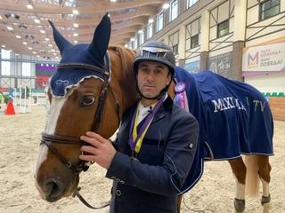 Михаил Атоян - победитель Кубка MAXIMA TV (125 см)