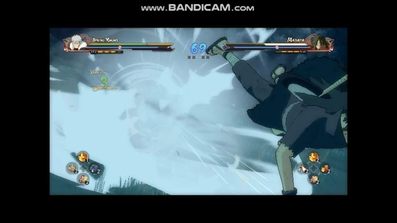 NSUNS4 Tobirama vs Madara
