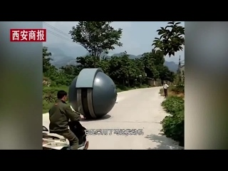 Китайцы создали модификацию кугельпанзера, немецкого шарообразного экспериментального танка времён 30-х годов