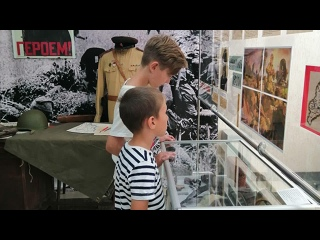 """Онлайн-трансляция презентации выставки """"Сквозь годы говорит война"""""""