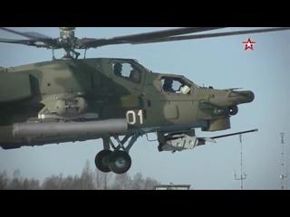 Учения армейской авиации под Псковом