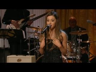 Ariana Grande: «Mr. President, Mrs. Obama, what's up? How are ya?» (2014)
