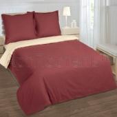 Aрт. 962-1191:  Каштан|КПБ 2-спальный с простынью