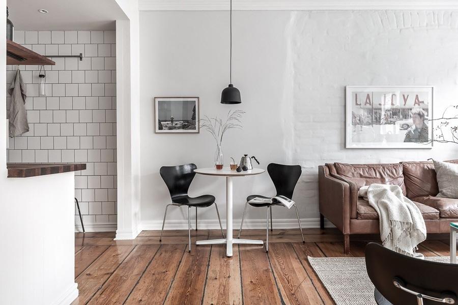 Шведская квартира-студия 35 м.