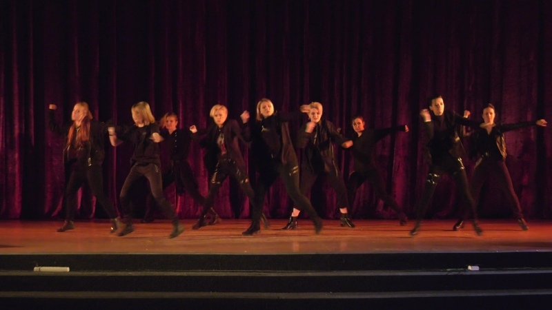 AnimeDay 2019 Block3 Групповой Cover Dance 13*37 Airplane mode Noir