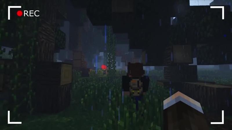 Линч ЛЕС ЗАБРАЛ моего ДРУГА Японский лес Призраков Часть 2 Страшилки Майнкрафт