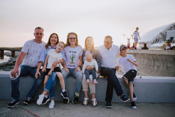 Семейная фотосессия в Адлере. Оля и Оля 05.19