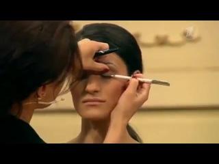 Как рисовать стрелки Жанна Сан-Жак в эфире телешоу Модный приговор на Первом