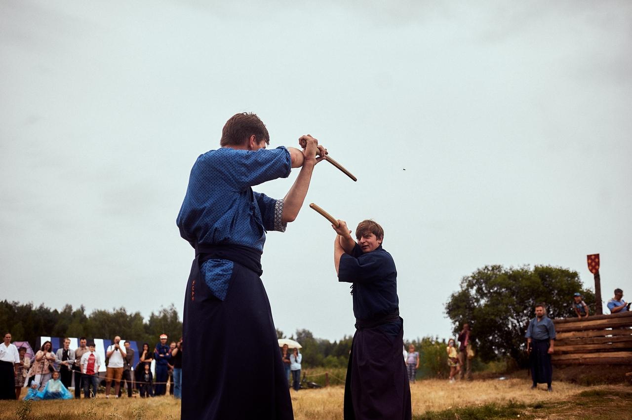 Афиша Омск Набор в Катори - школу японского фехтования