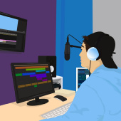 Озвучка видео, рекламы, трейлеров