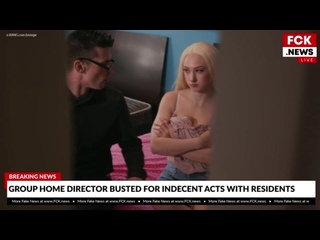 [Bang FakeNews] Skylar Vox - Gets Her Pussy Used By A Group Home Director (05-02-2020)