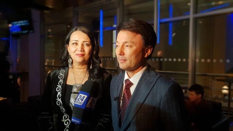 Канат и Светлана Айтбаевы. Photo: NUR.KZ