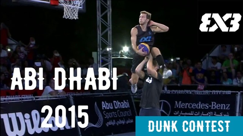 Dunk Contest Abu Dhabi 2015 (Detro)