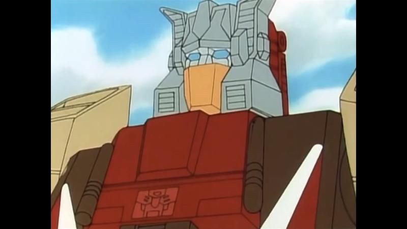 Слабое место Гальватрона Трансформеры Властоголовы Transformers Headmasters