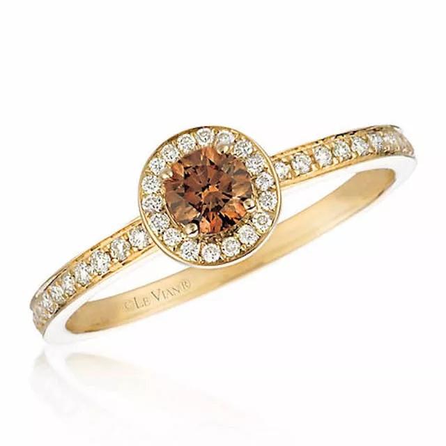 HqMlhMIBIaY - Шоколадные бриллианты в обручальных кольцах - звучит мечтательно