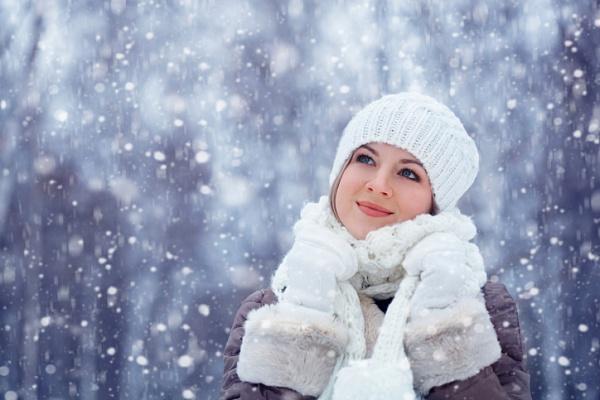 Пушисто-белый снег