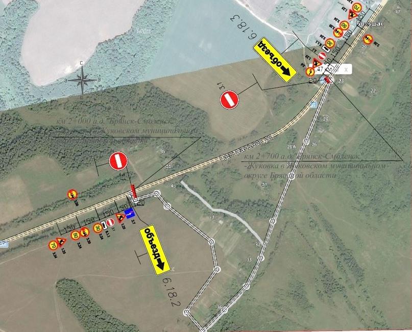 Информация об ограничении движения в Жуковском районе, изображение №1