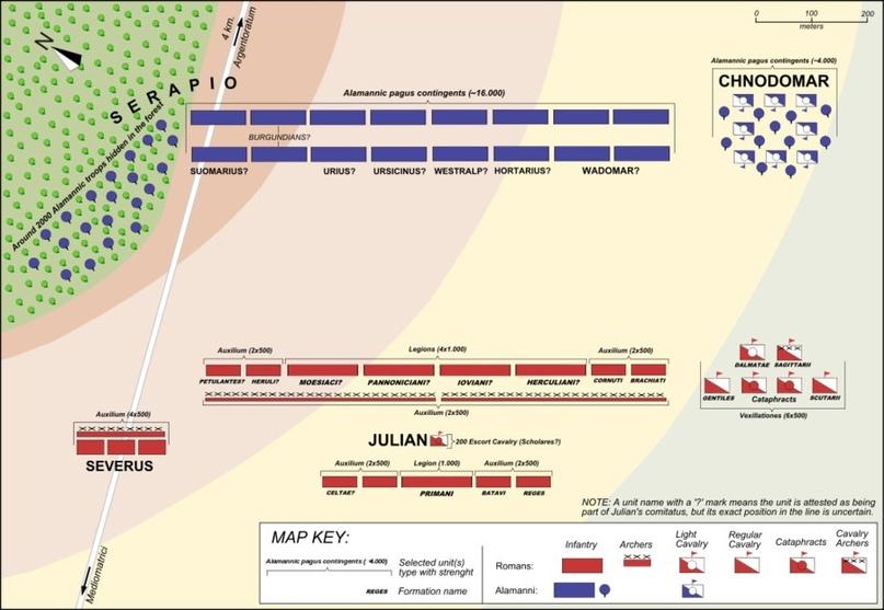 Войны и кампании Юлиана Отступника, изображение №18