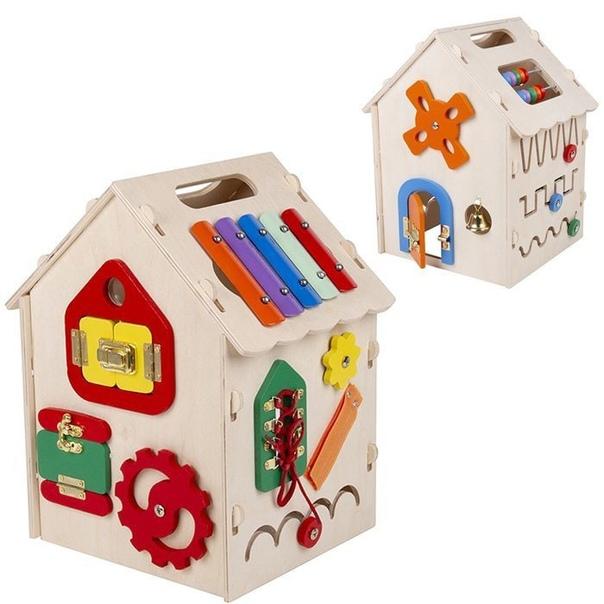 Бизиборд Музыкальный домик(новый) арт.02470Цена : ...