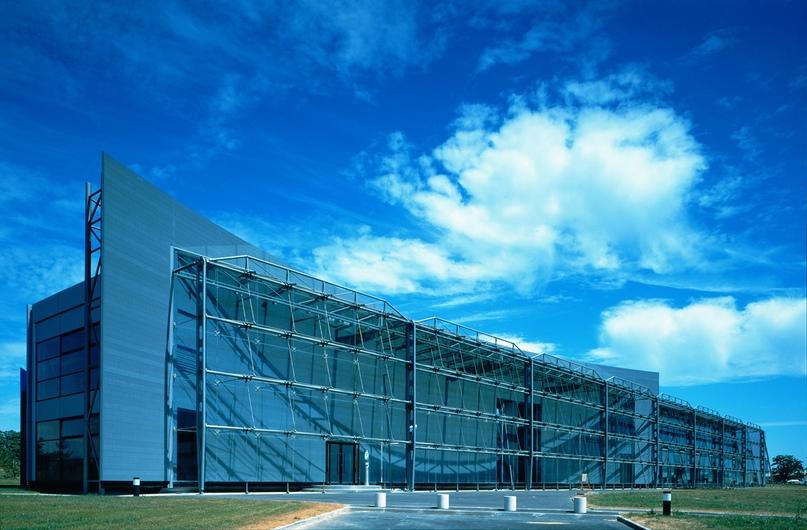 1990: административное здание Banque Populaire de l'Ouest (BPO), Ренн, Франция (ODBC)