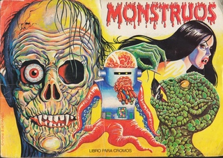 Классические монстры (Monstruos Sticker Album, 1986)