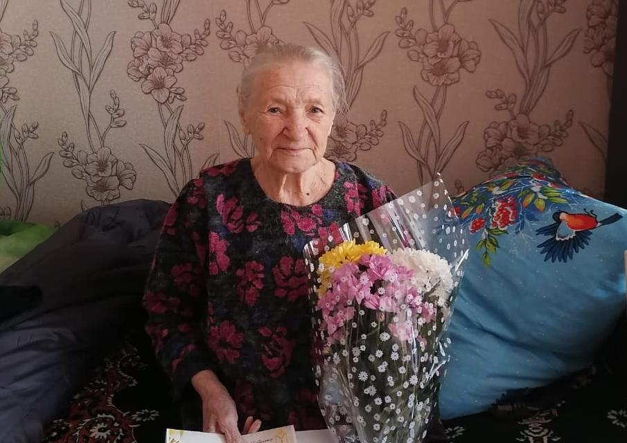 Сегодня поздравления с 90-летием принимает жительница села Сосновоборское Раиса Ивановна КУЛАГИНА