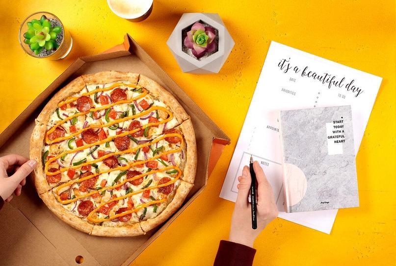 Вкусные новинки от «ДоДо Пиццы» в бизнес-центре «Нагатинский»
