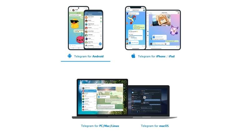 Telegram disponible en estas plataformas