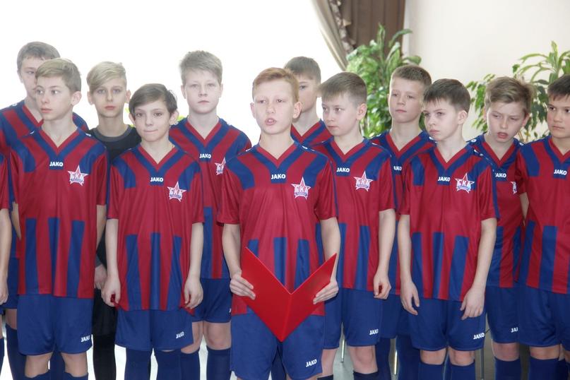 Игроков команды «СКА-Хабаровск-2009» посвятили в армейцы, изображение №3