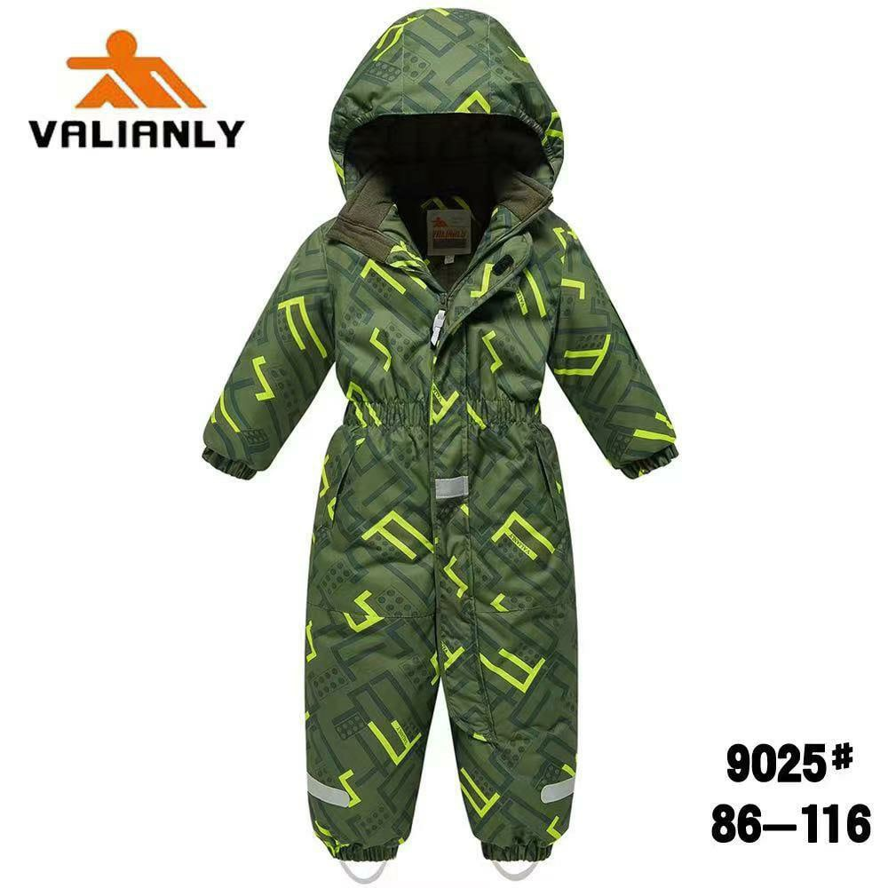 Зимний комбинезон Valianly 9025 зеленый