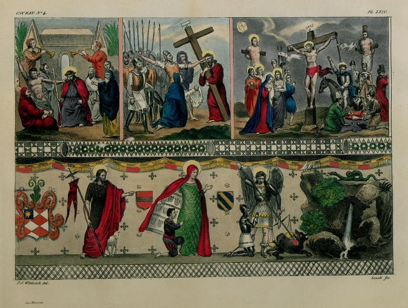 Фреска из церкви Филеримос. Не сохранилась.