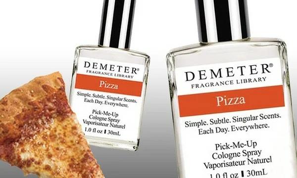Есть духи с запахом пиццы  Знаменитый