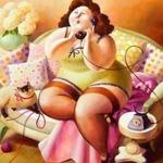 Толстушки, диеты, еда — тематическая подборка