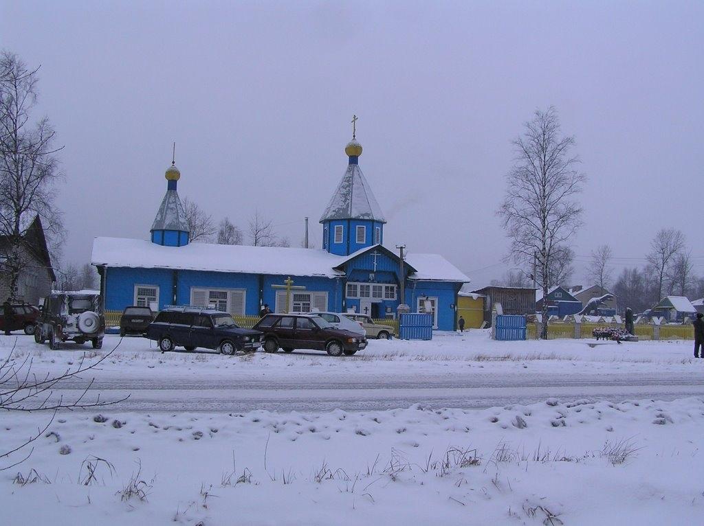 Коноша. Церковь Серафима Саровского #фото_коноши https://vk.com/konoscha_ru