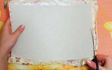 Как сделать дизайнерский картон своими руками за 10 минут