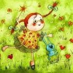 Июнь в веселых стихах для детей
