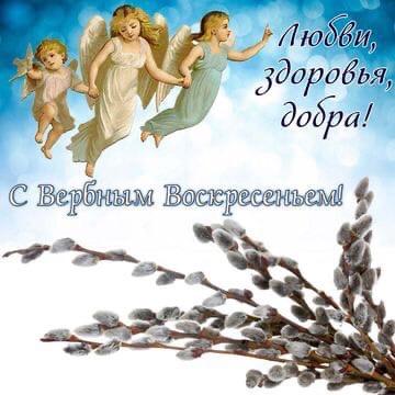 Поздравляем вас с Вербным воскресением! От всего