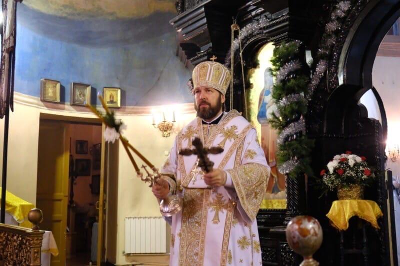 Рождественское послание епископа Гатчинского и Лужского МИТРОФАНА духовенству, монашествующим и всем верным чадам Гатчинской епархии.