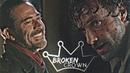 ● Negan Rick Broken crown 7x16