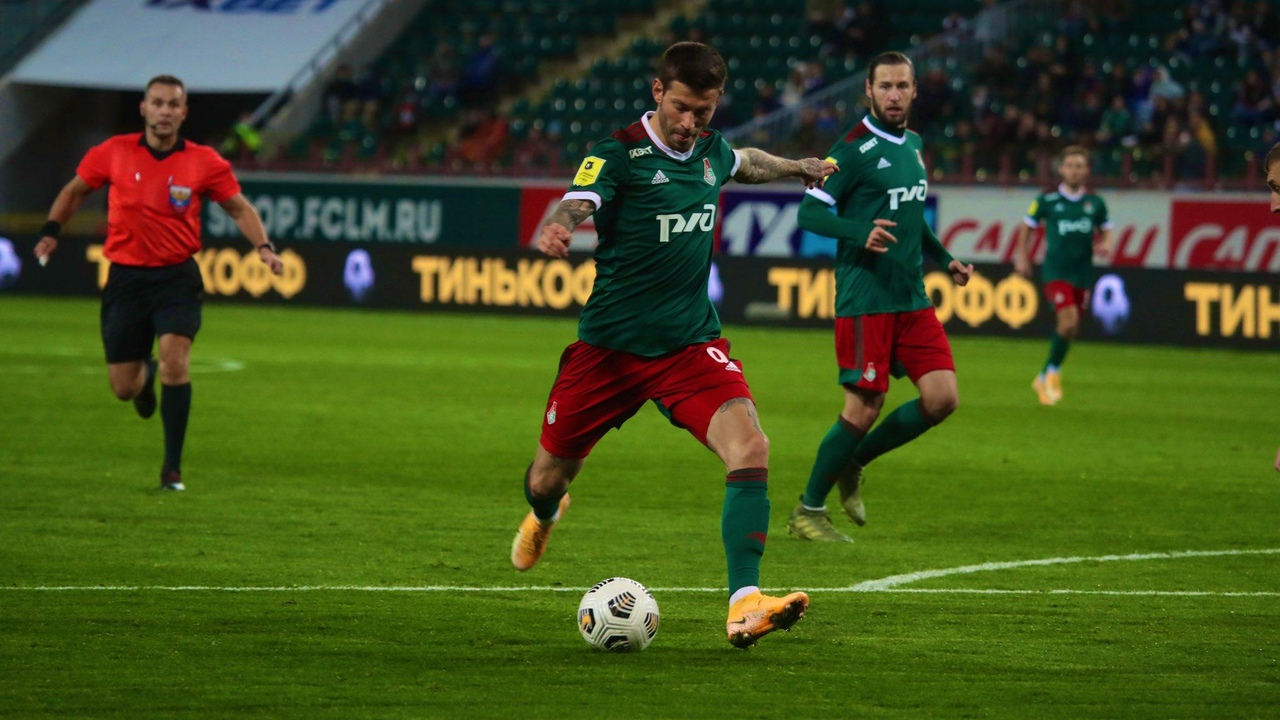 Локомотив - Тамбов, 1:0