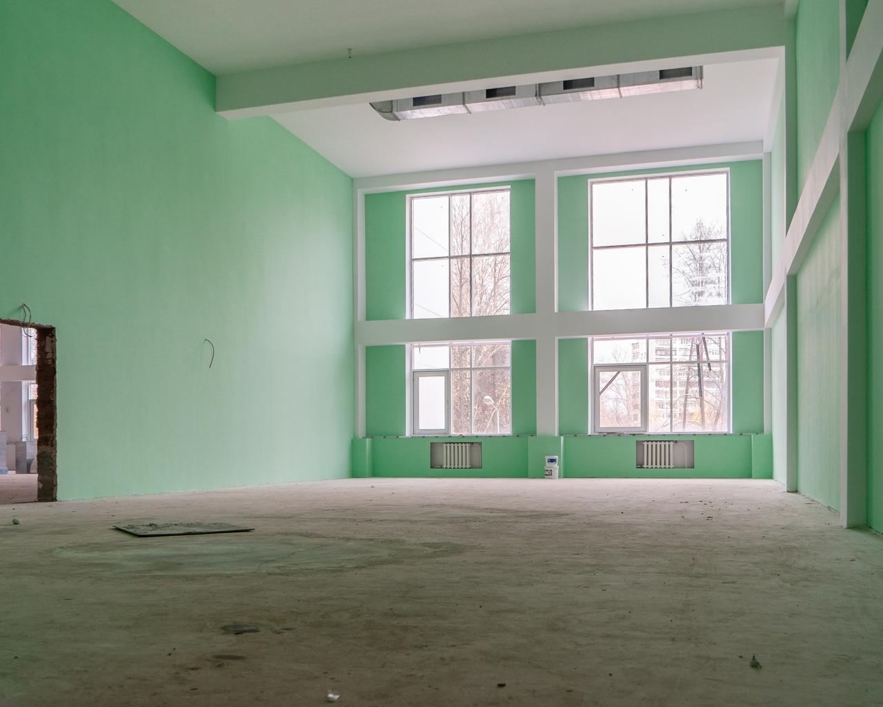 строительство школы, чайковский район, 2020 год