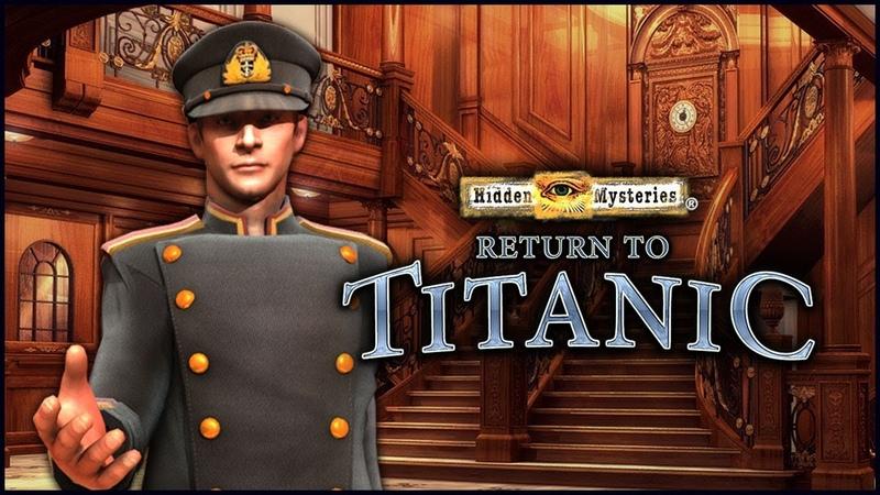 Hidden Mysteries 10 Return to Titanic Скрытые тайны 10 Возвращение на Титаник прохождение 1