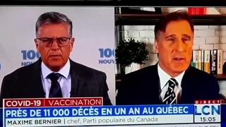 😒 Paul Larocque engueule Maxime Bernier à LCN
