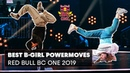 Best B-Girl Power Moves in Red Bull BC One Compilation 2019