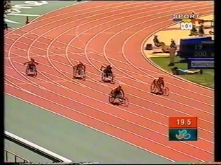 Sydney 2000 Paralympic Games - Womens T54 200m Semi Finals