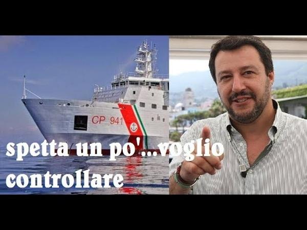 Salvini: No allo sbarco senza garanzie, i dirottatori dovranno scendere in manette